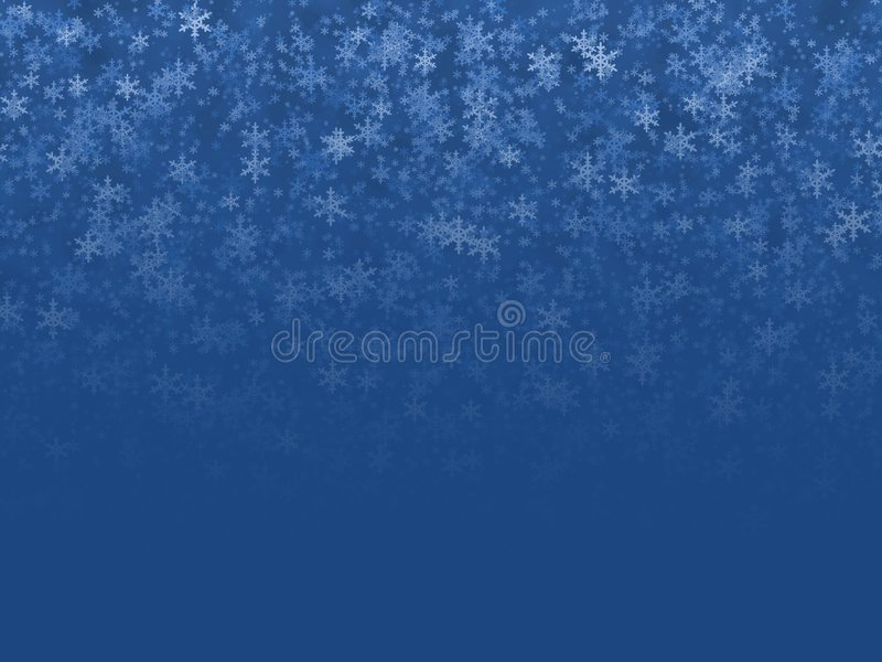 krystaliczna zima royalty ilustracja