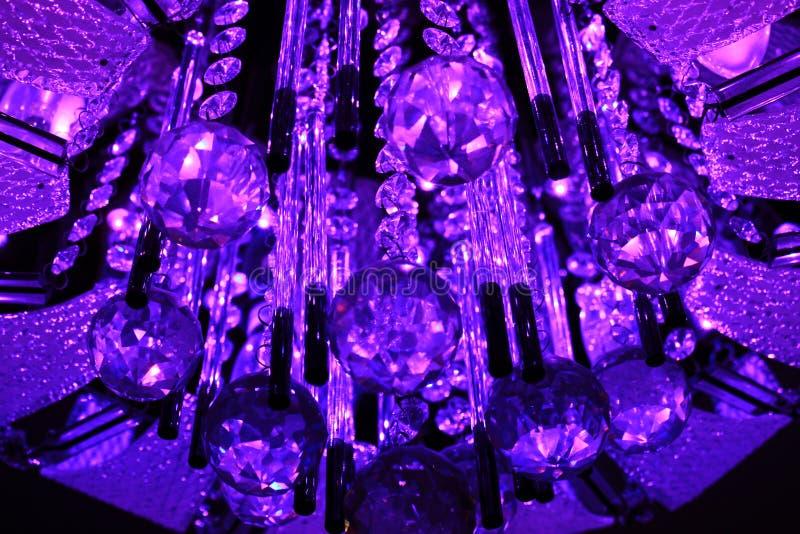 Krystaliczne Bożenarodzeniowe piłki obrazy royalty free