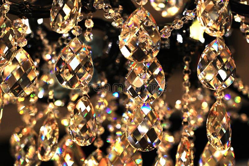 Krystaliczni breloczki fotografia stock