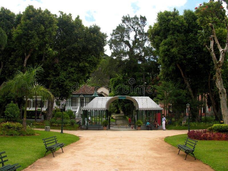 krystaliczni De Janeiro pałacu petropolis Rio. zdjęcie stock