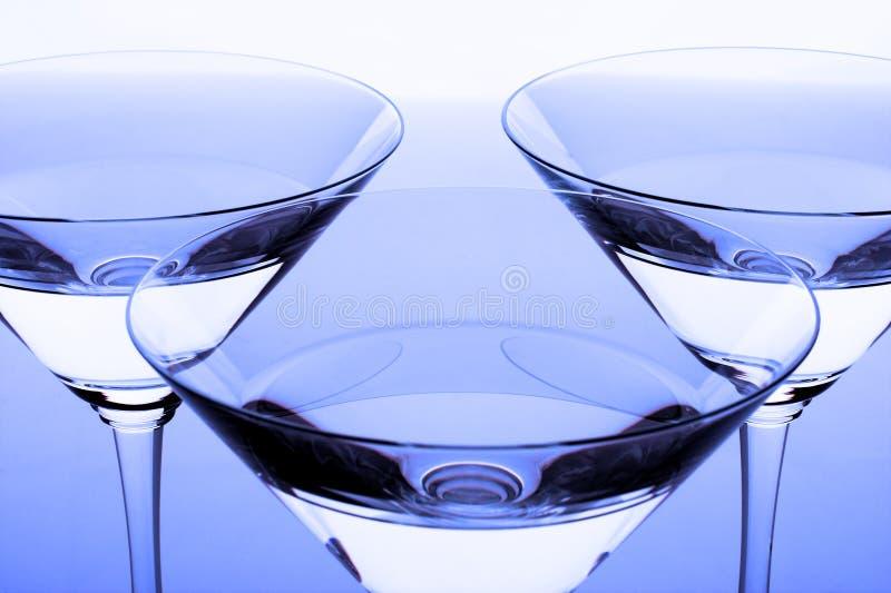 krystaliczni okulary 3 zdjęcia royalty free