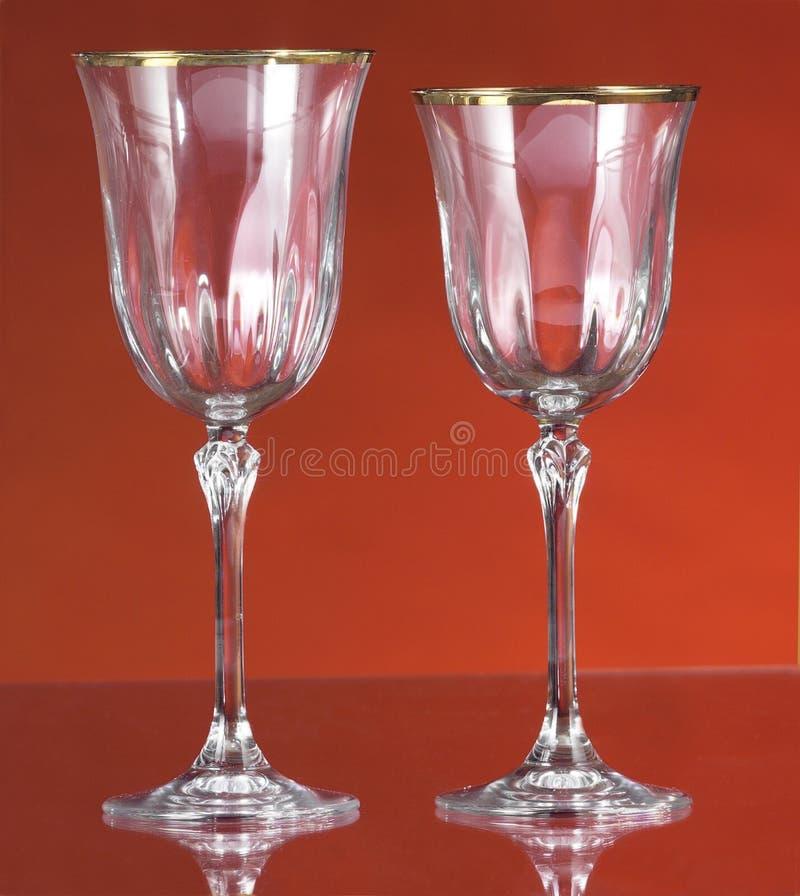 krystaliczni okulary fotografia royalty free