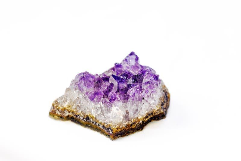 Krystaliczny ametyst zdjęcie royalty free