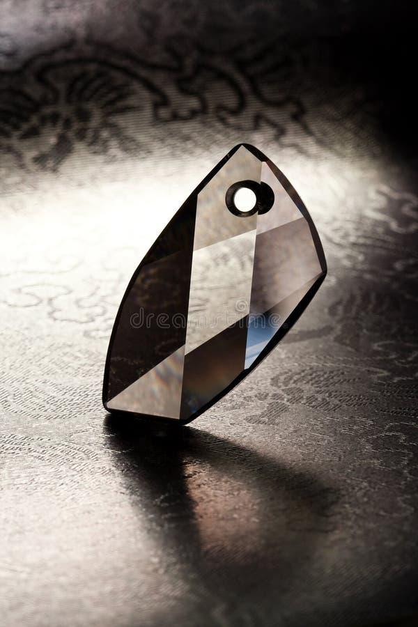 krystaliczny breloczek obraz royalty free