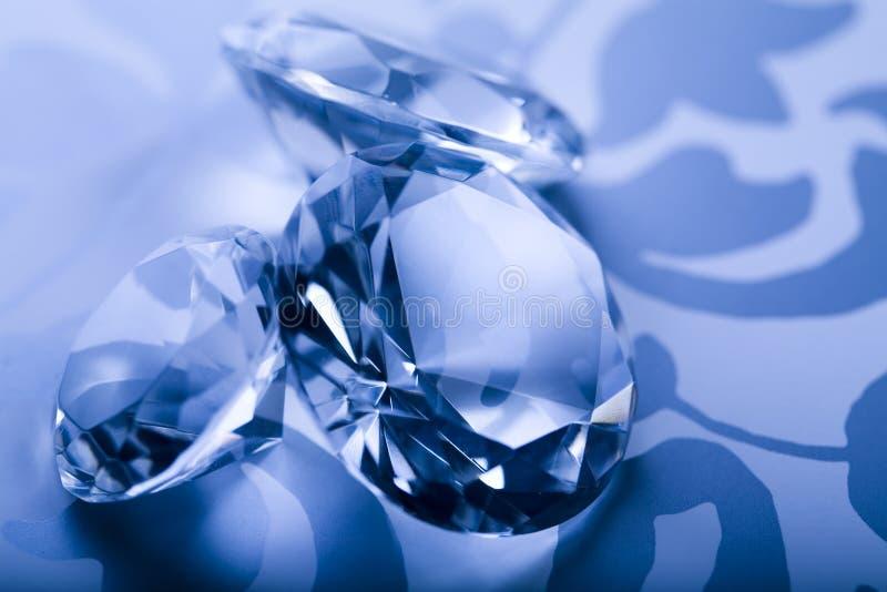 krystaliczny diament obraz stock
