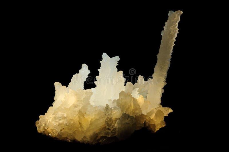 krystaliczny gips zdjęcie stock
