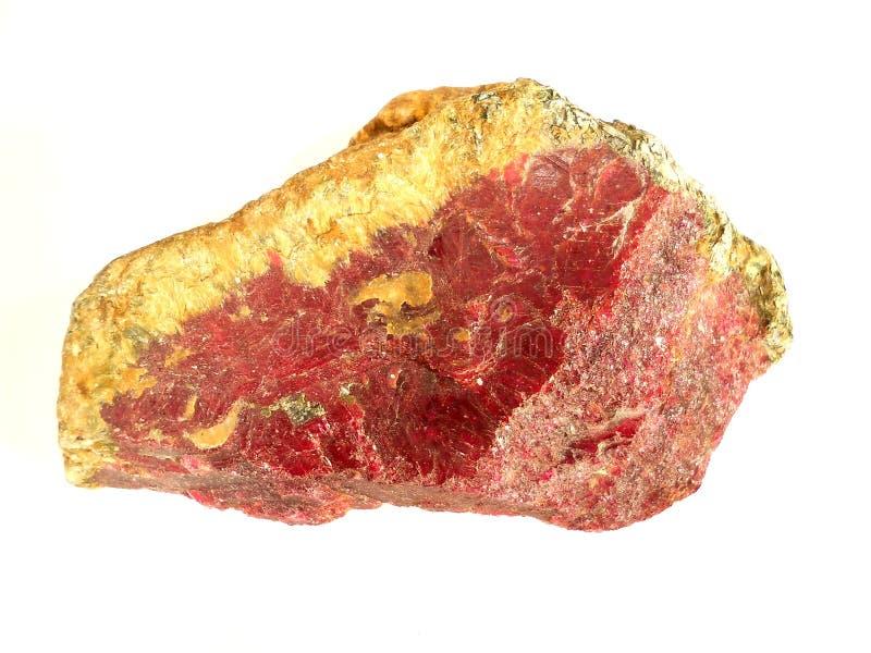 Krystaliczny korund zdjęcie stock