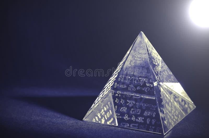 Krystaliczny ostrosłup - Lomo skutki zdjęcie royalty free