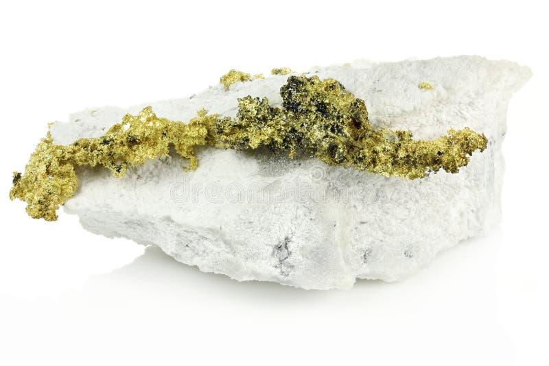 Krystaliczny złoto zdjęcie stock