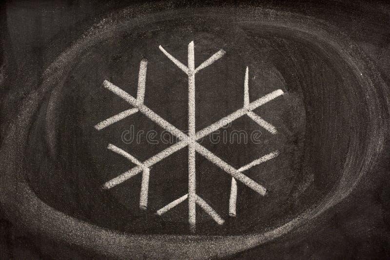 krystalizująca pictorial znaka śniegu woda obraz royalty free
