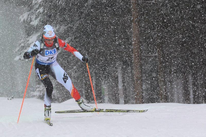 Krystyn Guzik - biathlon photos libres de droits