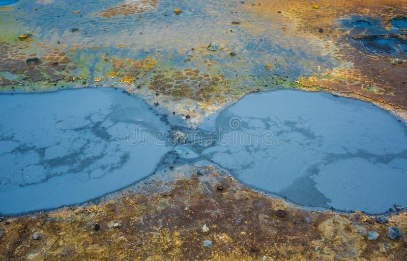Krysuvik geotermiczny teren, Iceland obraz stock