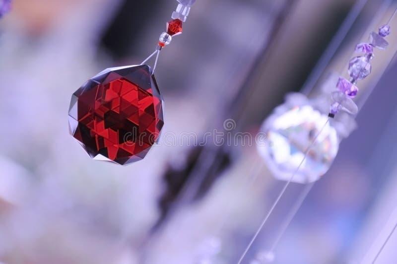 kryształów target153_0_ dekoracyjny zdjęcia stock