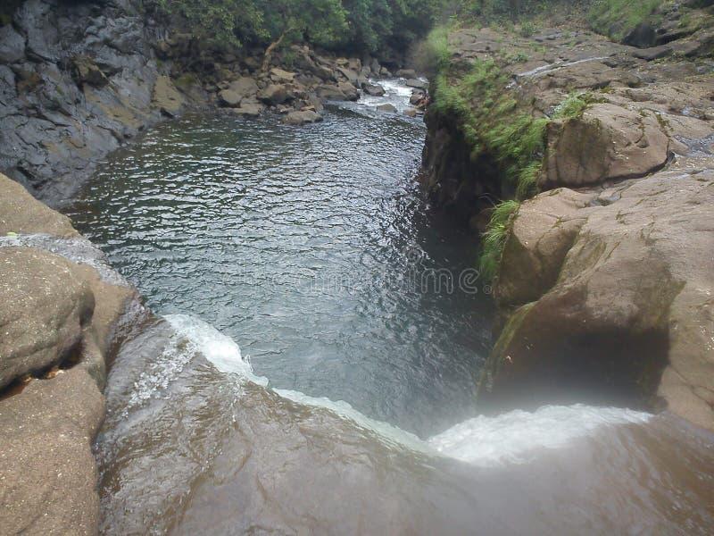 Kryształ - jasny rezerwat wodny zdjęcia stock