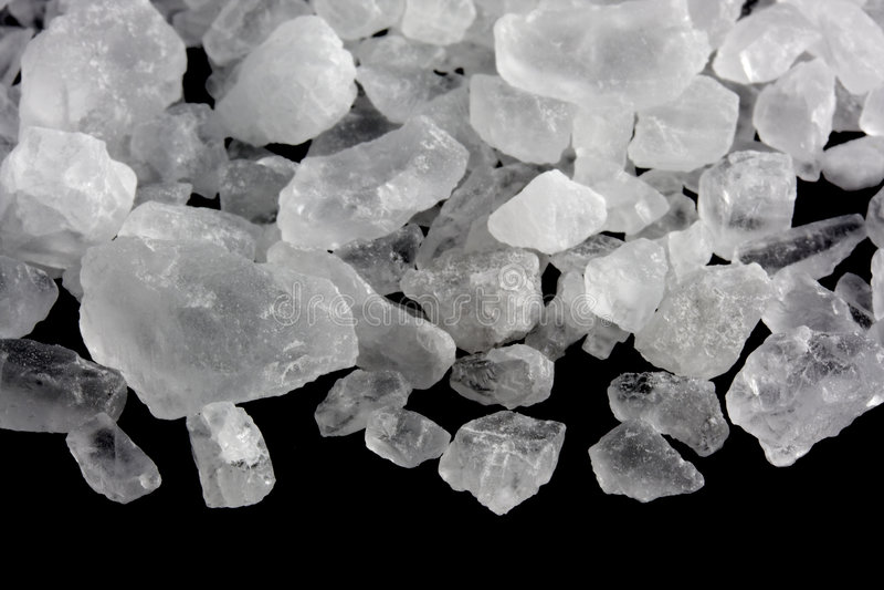 kryształ rock soli zdjęcie stock