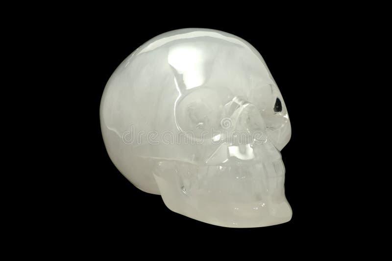 kryształowa czaszka zdjęcie royalty free