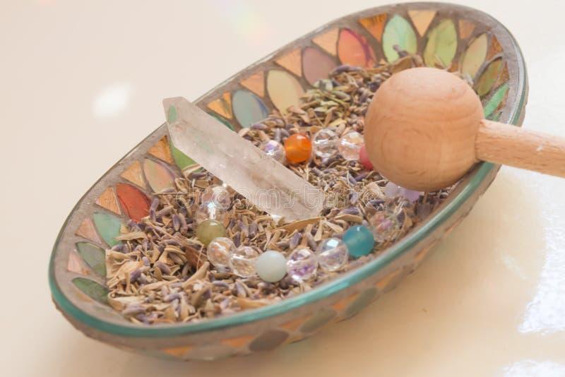 Kryształu kamień zdjęcia stock