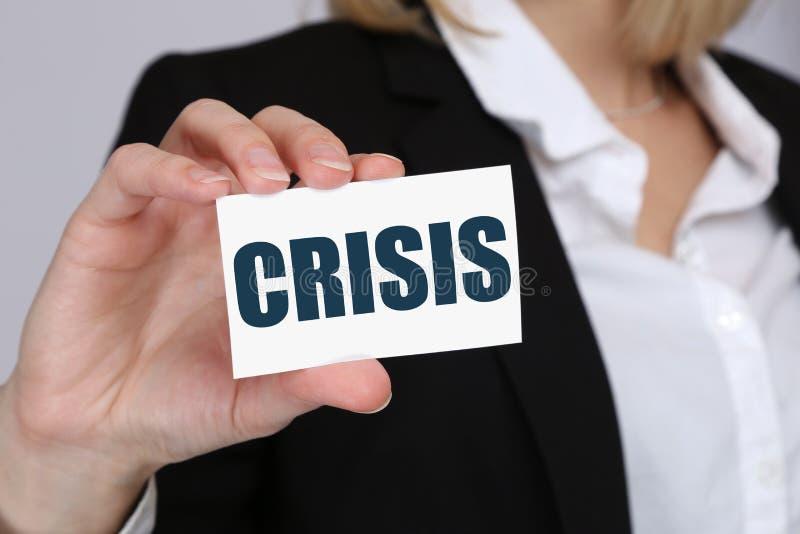 Kryzys bankowości zarządzania depts biznesu pieniężny pojęcie obrazy stock