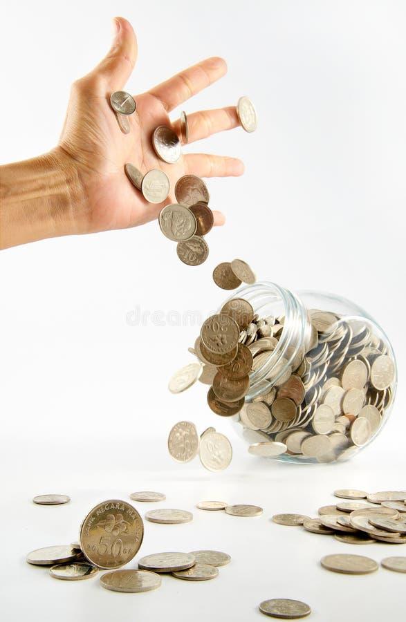 kryzys pieniężny zdjęcia royalty free