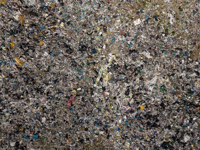kryzysu ekologiczny środowiskowy fotografii zanieczyszczenie Powietrzna odgórnego widoku fotografia od latającego trutnia wielki  obraz royalty free