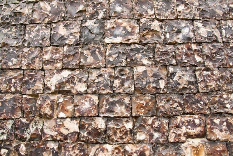 krzemień ściana zdjęcia royalty free