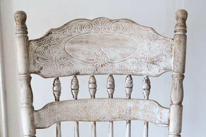 krzesła ścinku odosobniony ścieżki rocznika biel obrazy royalty free