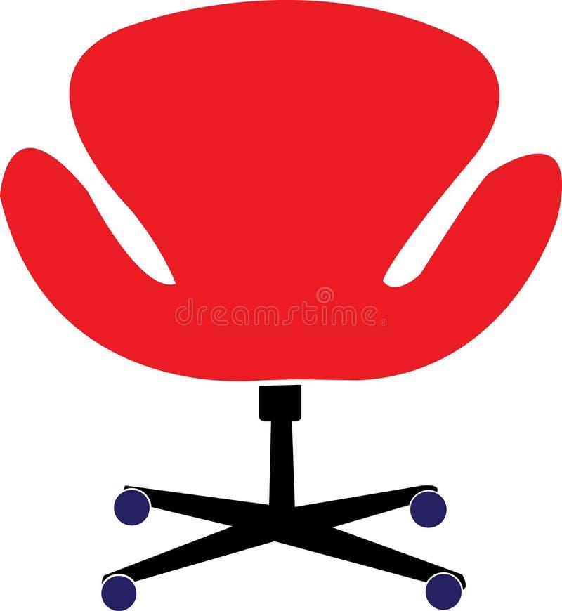 krzesła biuro ilustracja wektor