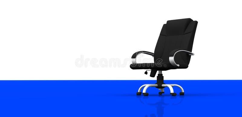 krzesła biuro royalty ilustracja