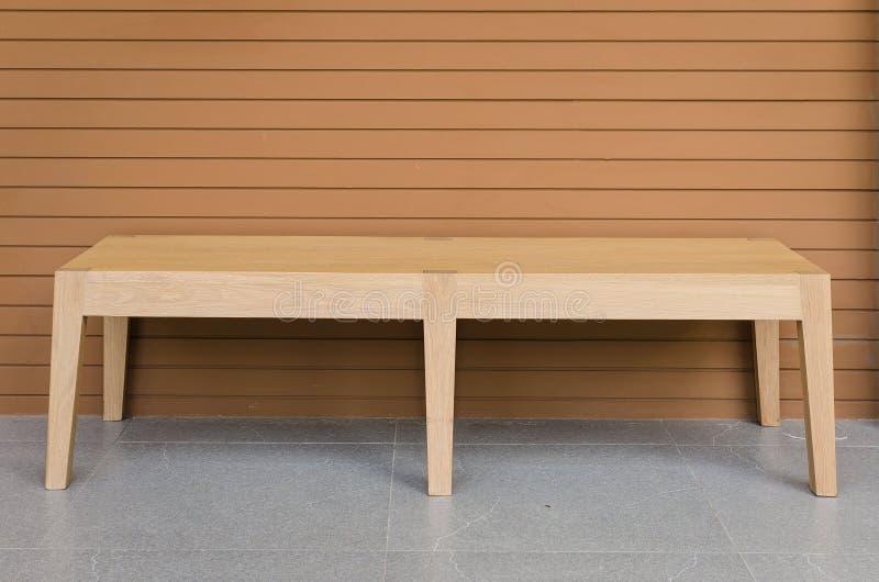 krzesła drewniany nowożytny obraz stock