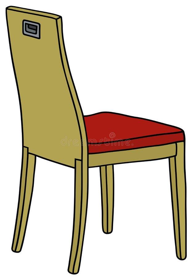 Download Krzesła Drewniany Nowożytny Ilustracja Wektor - Ilustracja złożonej z nowożytny, czerwień: 53784199