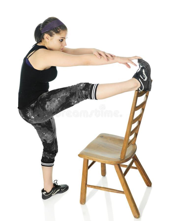 krzesła palec u nogi dotyki obrazy stock