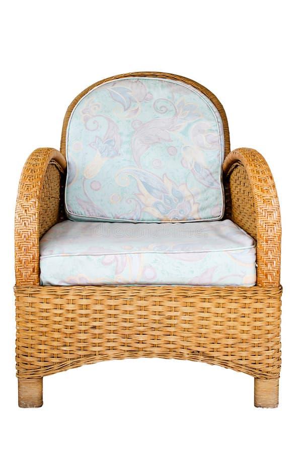 krzesła wicker obraz stock