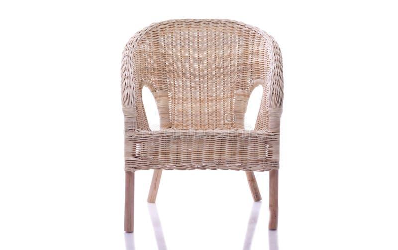 krzesła wicker obrazy royalty free