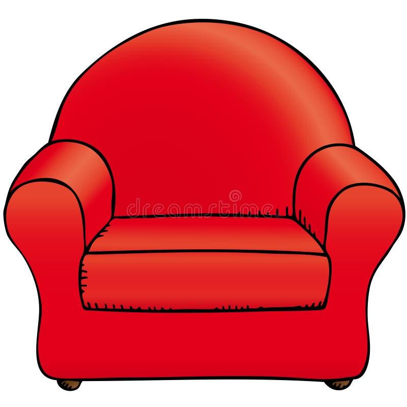 krzesło ilustracja wektor
