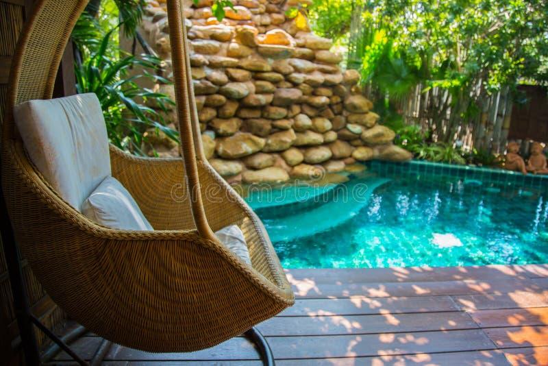 Krzesło dla relaksować zdjęcia royalty free