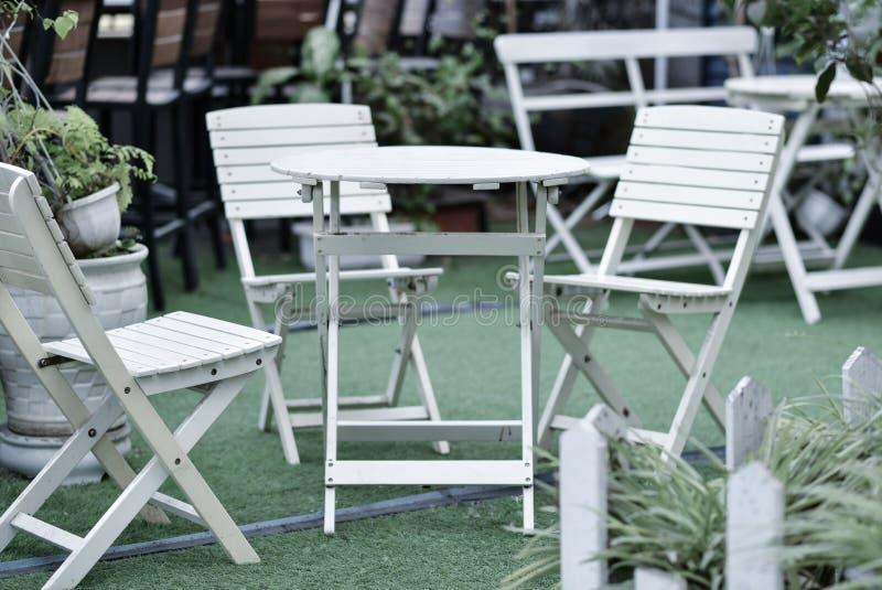 Krzesło, krzesło dla sklep z kawą zdjęcia royalty free