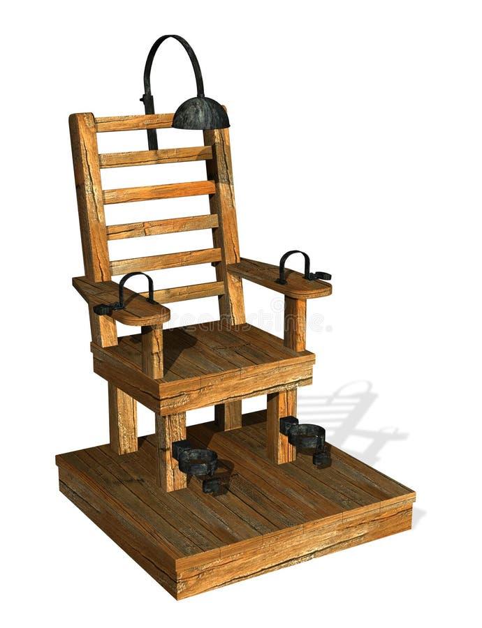 krzesło elektryczne ilustracji
