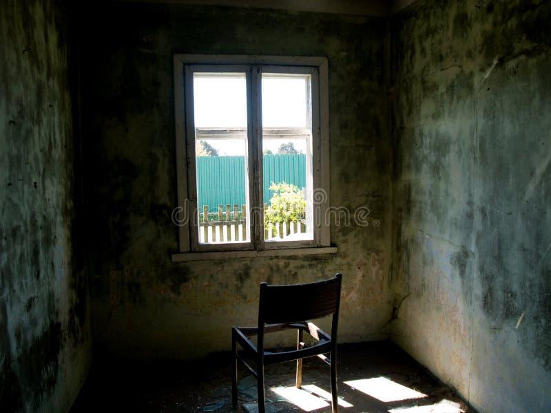 krzesło emty zdjęcia stock