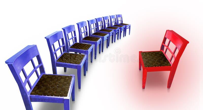 krzesło gorący fotografia royalty free