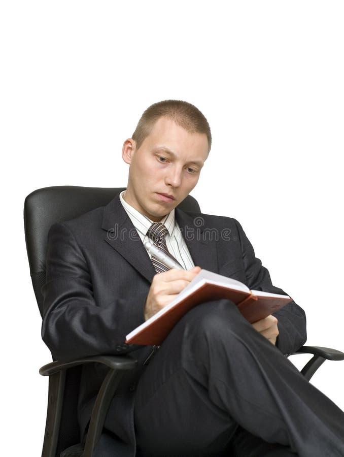 krzesło mężczyzna zdjęcia stock