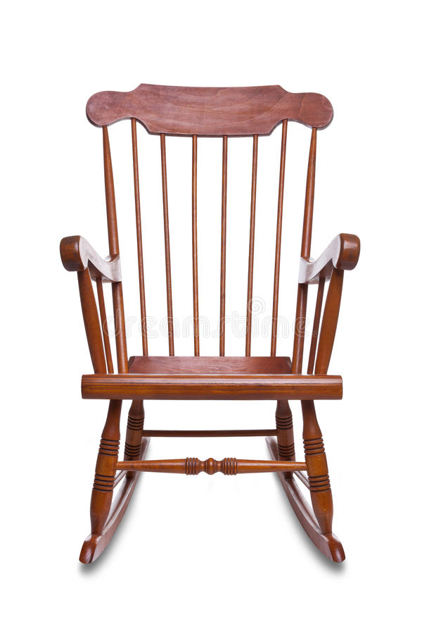 krzesło odizolowywam target2178_0_ obraz stock