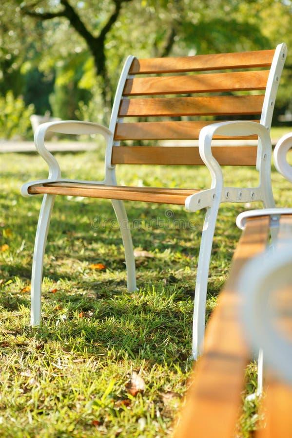 krzesło ogród zdjęcia royalty free
