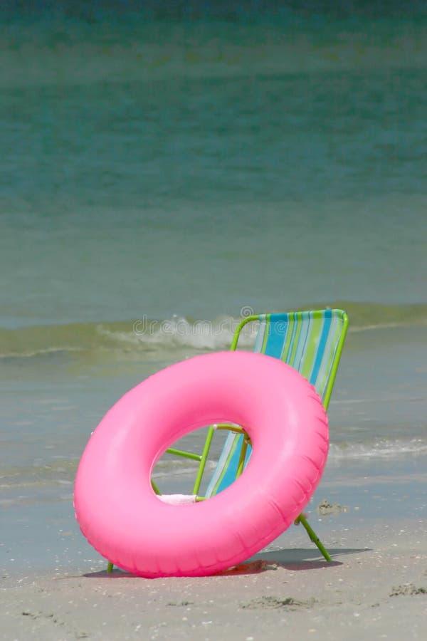 krzesło pływaka zdjęcia stock