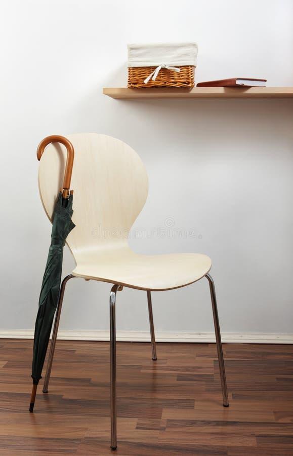 krzesło parasol obrazy stock