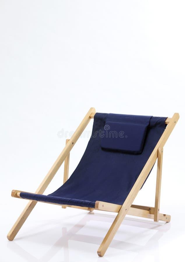 krzesło pokład obraz stock