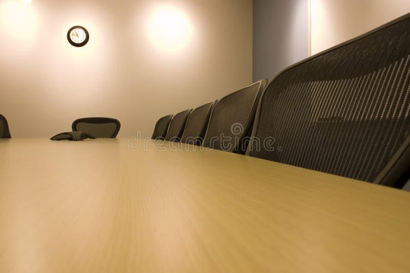 krzesło sali konferencyjnej rząd fotografia stock
