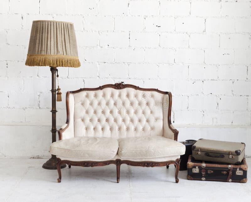 krzesło skóra zdjęcia royalty free