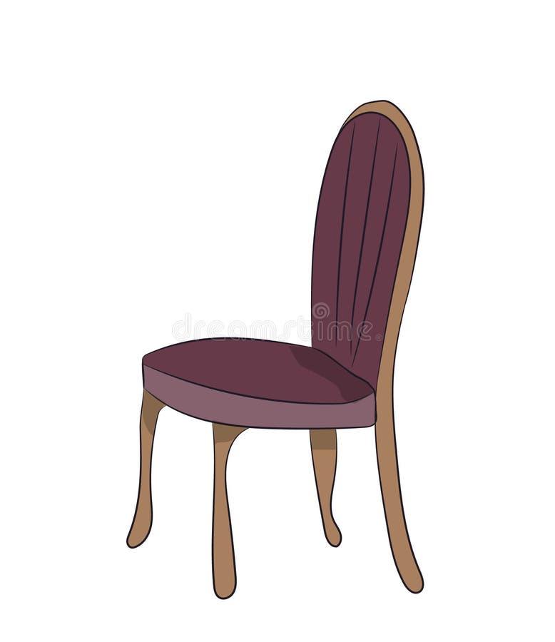 Krzesło stojaki, wektor, ilustracja wektor