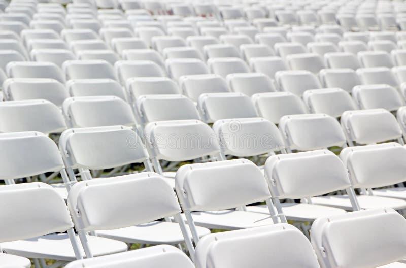 Download Krzesła zdjęcie stock. Obraz złożonej z eventide, tło - 24853806