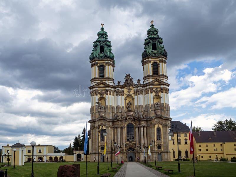 Krzeszow - Cistercian аббатство, более низкая Силезия, Польша стоковые фото